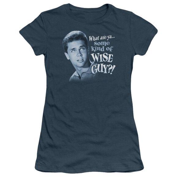 Leave It To Beaver Wise Guy Short Sleeve Junior Sheer T-Shirt