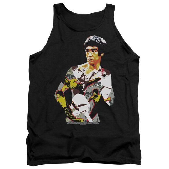 Bruce Lee Body Of Action Adult Tank