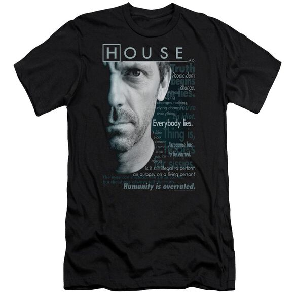 House Houseisms Premuim Canvas Adult Slim Fit