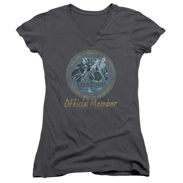 Little Rascals He Man Woman Haters Junior V Neck T-Shirt
