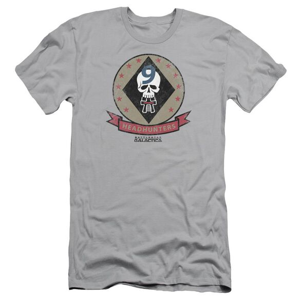 Bsg Headhunters Badge Short Sleeve Adult T-Shirt