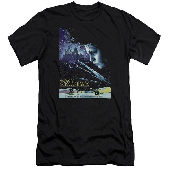 Edward Scissorhands Poster Premuim Canvas Adult Slim Fit