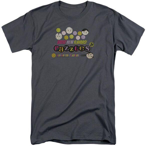 Dubble Bubble Razzles Retro Box Short Sleeve Adult Tall T-Shirt