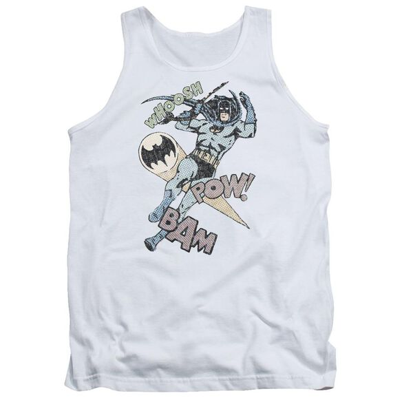 Batman Halftone Swing Adult Tank