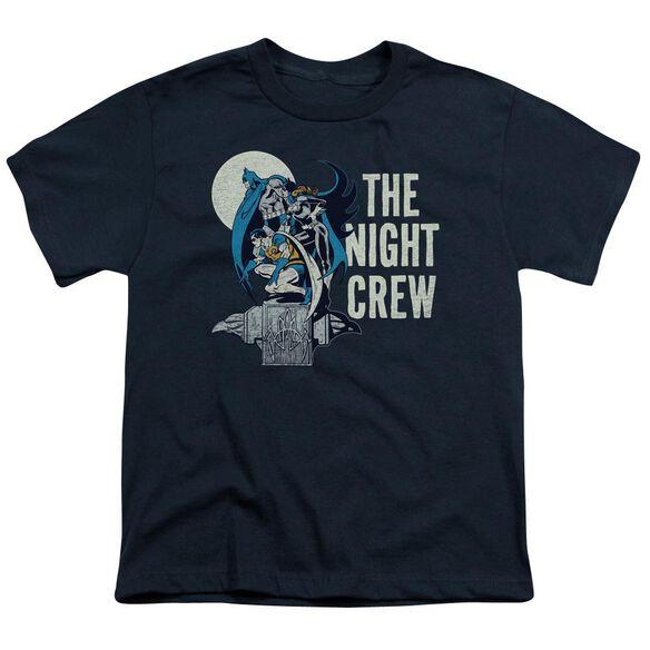 Dc Night Crew Short Sleeve Youth T-Shirt
