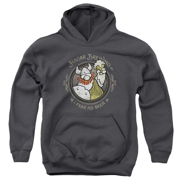 Hagar The Horrible Hagar Brewing Youth Pull Over Hoodie