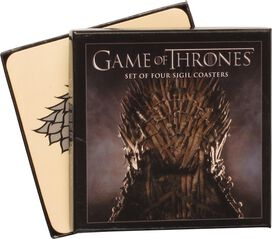 Game of Thrones Four House Sigil Coaster Set