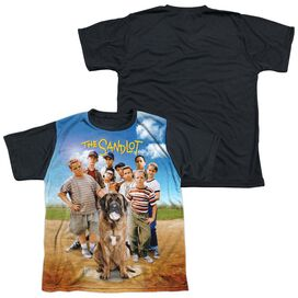 Sandlot Sandlot Poster Short Sleeve Youth Front Black Back T-Shirt