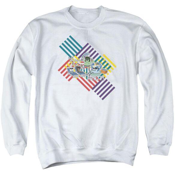 Regular Show We Gonna Party Adult Crewneck Sweatshirt