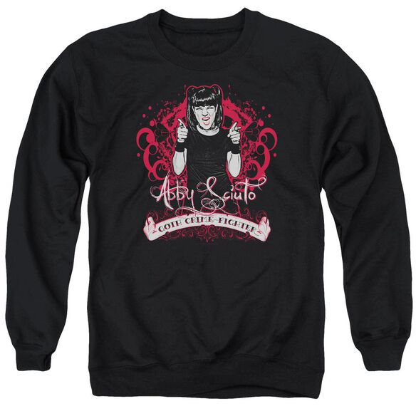 Ncis Goth Crime Fighter Adult Crewneck Sweatshirt