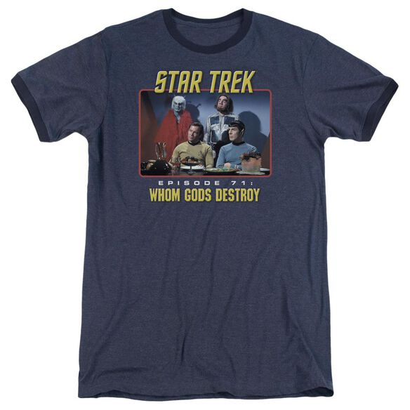 Star Trek Episode 71 Adult Heather Ringer Navy