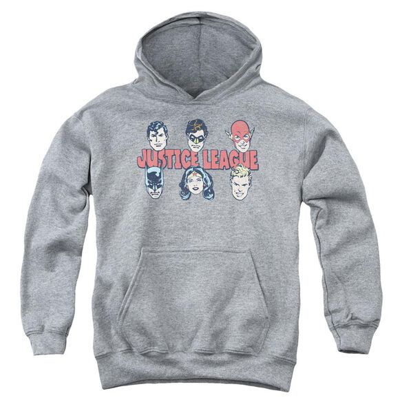Dc Justice Lineup Youth Pull Over Hoodie