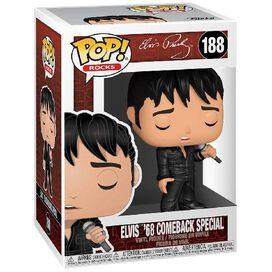Funko Pop! Rocks: Elvis - '68 Comeback Special