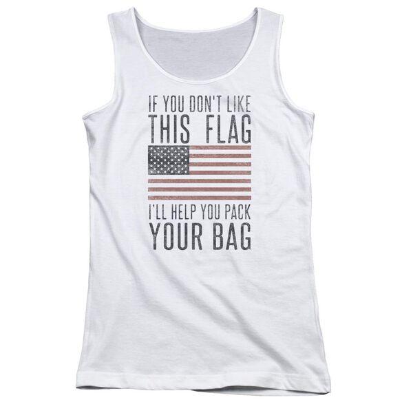 Pack Your Bag Juniors Tank Top