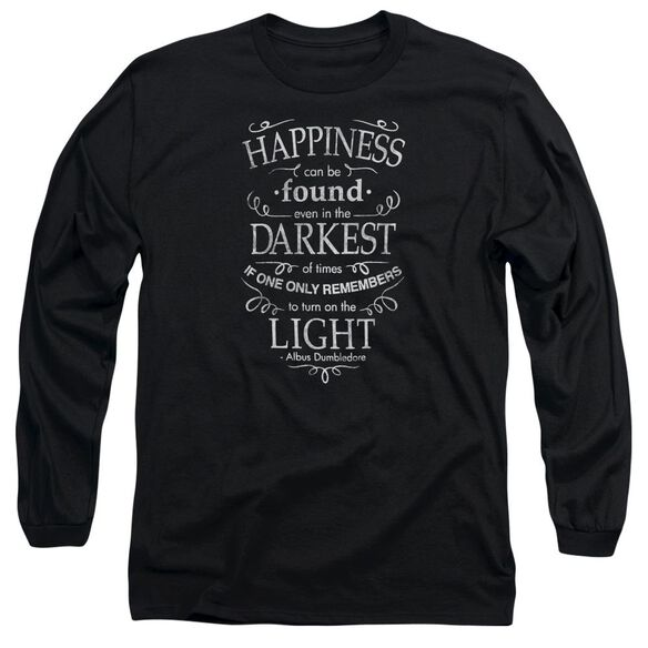Harry Potter Happiness Long Sleeve Adult T-Shirt