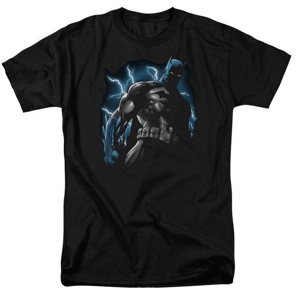 Batman Gotham Lightning Short Sleeve Adult T-Shirt