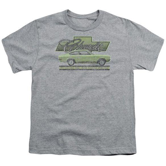 Chevrolet Vega Car Of The Year 71 Short Sleeve Youth Athletic T-Shirt