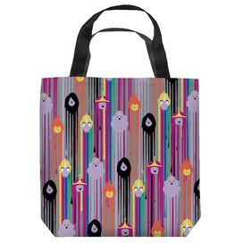 Adventure Time Paint Drip Pattern Tote