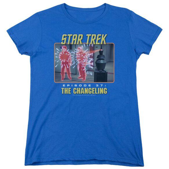 St Original The Changeling Short Sleeve Women's Tee Royal T-Shirt
