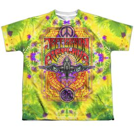 Jefferson Airplane Take Off Short Sleeve Youth Poly Crew T-Shirt