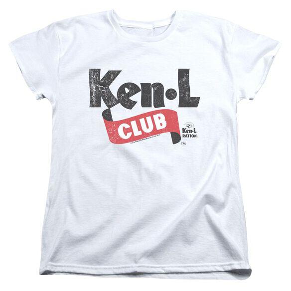 Ken L Ration Ken L Club Short Sleeve Womens Tee T-Shirt
