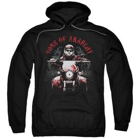 Sons Of Anarchy Ride On Adult Pull Over Hoodie Black