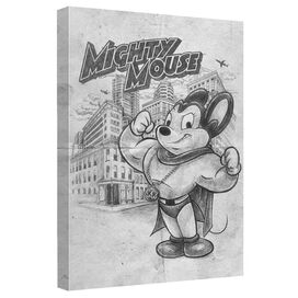 Mighty Mouse Sketch Quickpro Artwrap Back Board