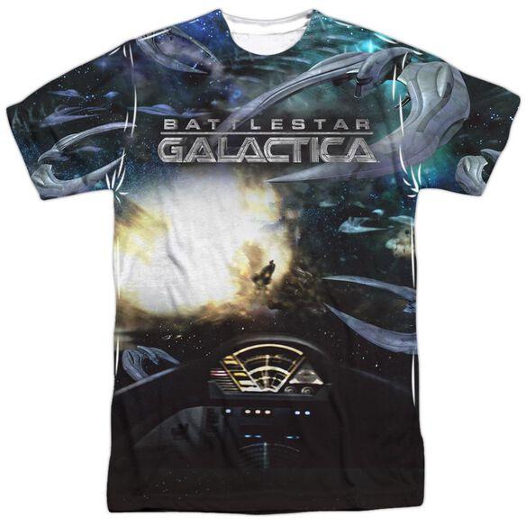 Bsg (New) Battle Seat Short Sleeve Adult Poly Crew T-Shirt