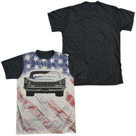 Buick 1959 Electra Flag Short Sleeve Adult Front Black Back T-Shirt