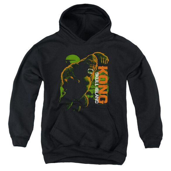 Kong Skull Island Attack Mode Youth Pull Over Hoodie