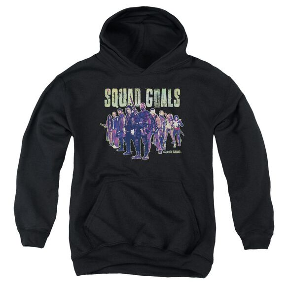 Suicide Squad Squad Goals Youth Pull Over Hoodie