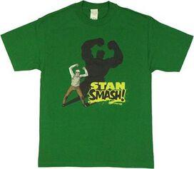 Stan Lee Hulk Smash T-Shirt