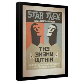 Star Trek Tos Episode 5 Canvas Wall Art With Back Board