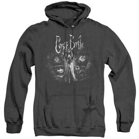 Corpse Bride Bride To Be - Adult Heather Hoodie - Black