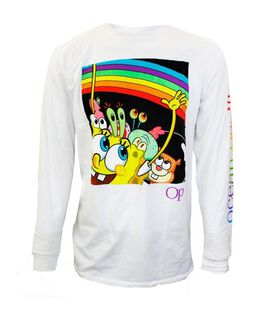 SpongeBob Squarepants Characters Long-Sleeve T-Shirt