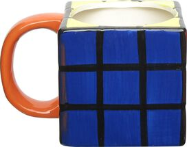 Rubiks Cube Sculpted Mug
