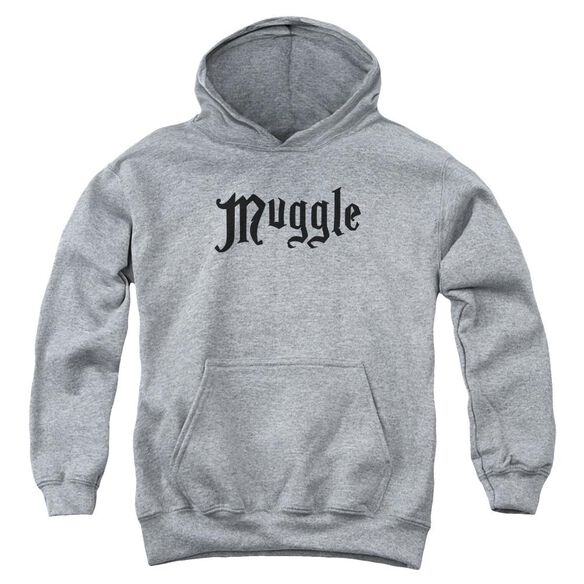 Harry Potter Muggle Youth Pull Over Hoodie Athletic