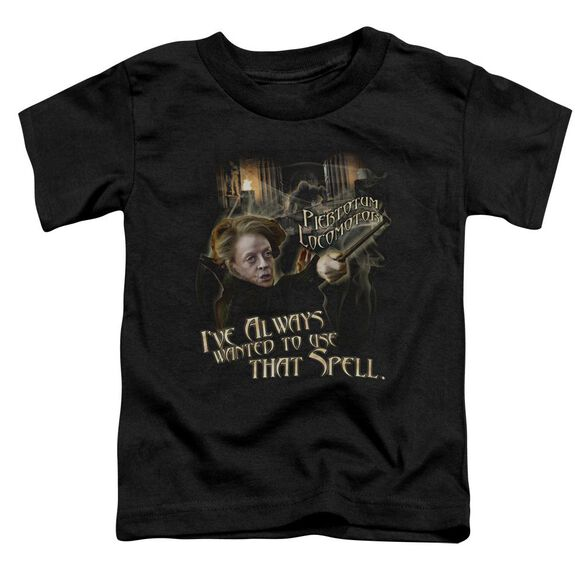 Harry Potter That Spell Short Sleeve Toddler Tee Black T-Shirt