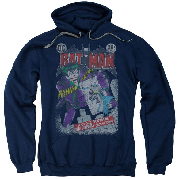 Batman #251 Distressed Adult Pull Over Hoodie