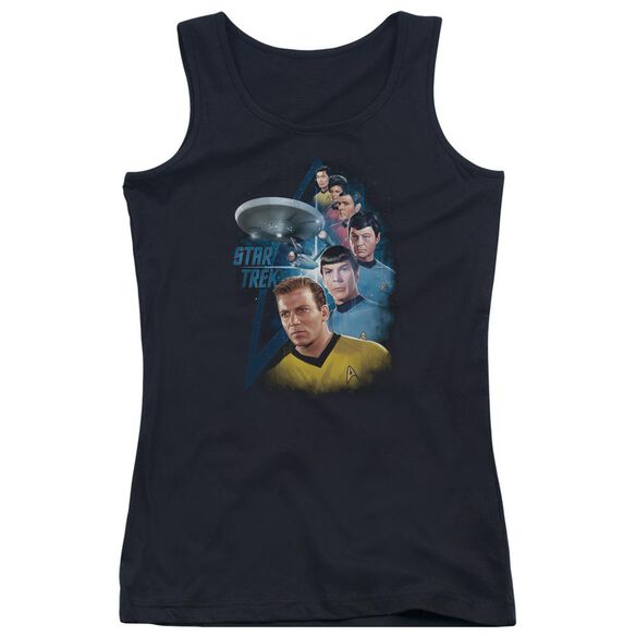 Star Trek Among The Stars Juniors Tank Top