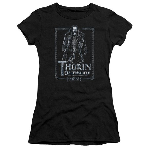 The Hobbit Thorin Stare Short Sleeve Junior Sheer T-Shirt