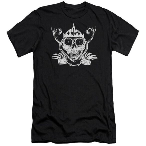 Adventure Time Skull Face Short Sleeve Adult T-Shirt