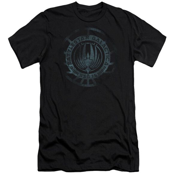 Battlestar Galactica (New) Faded Emblem Short Sleeve Adult T-Shirt