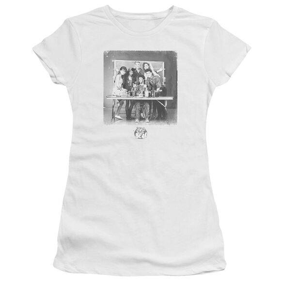 Saved By The Bell Class Photo Premium Bella Junior Sheer Jersey