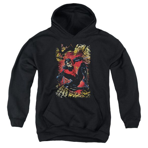 Jla Nightwing #1 Youth Pull Over Hoodie