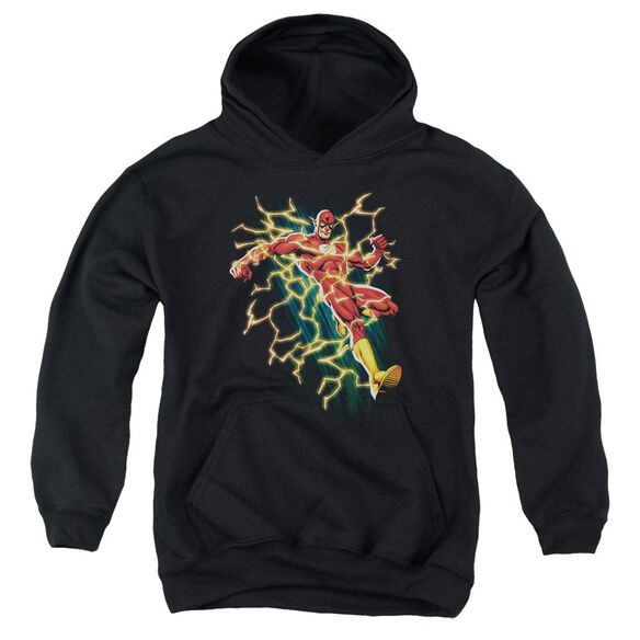 Jla Electric Death Youth Pull Over Hoodie
