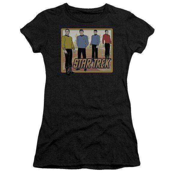 Star Trek Classic Short Sleeve Junior Sheer T-Shirt