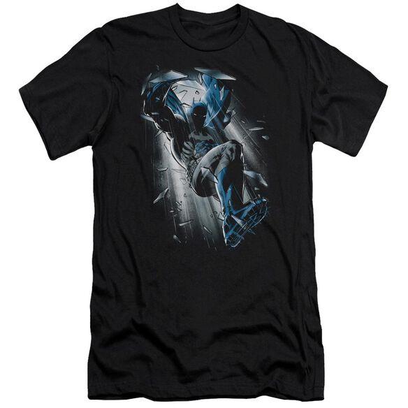Batman Bat Crash Short Sleeve Adult T-Shirt
