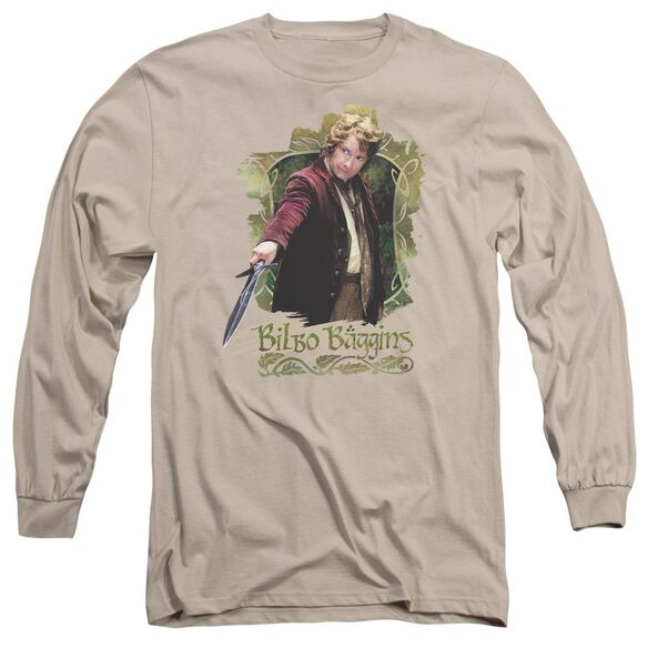 The Hobbit Bilbo Baggins Long Sleeve Adult T-Shirt