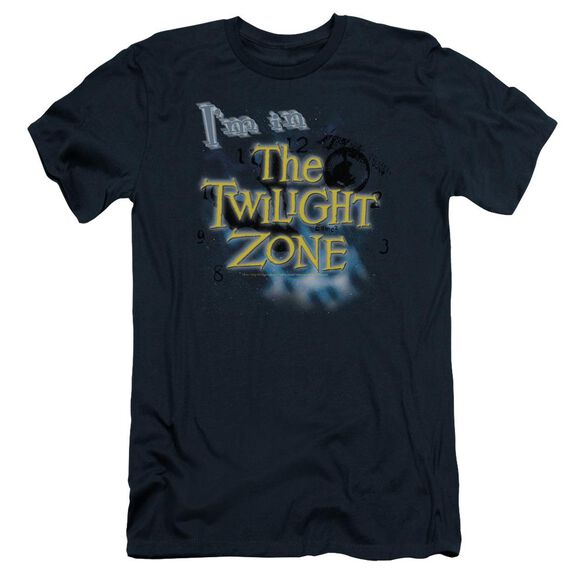 TWILIGHT ZONE IM IN THE TWILIGHT ZONE - S/S ADULT 30/1 - NAVY T-Shirt